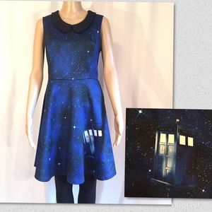 Doctor Who Galaxy Tardis for Hot Topic Dress